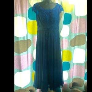 Light in the Box royal blue bridesmaid dress 14